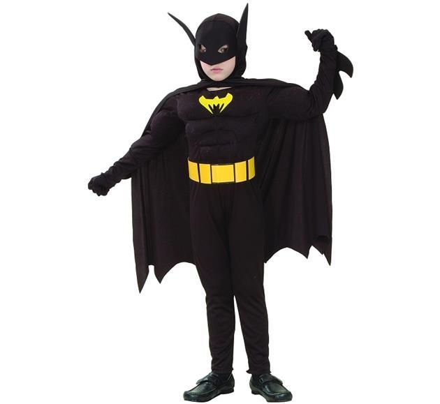 Niewiarygodnie Strój dla dzieci Batman Nietoperz 130/140 XR78