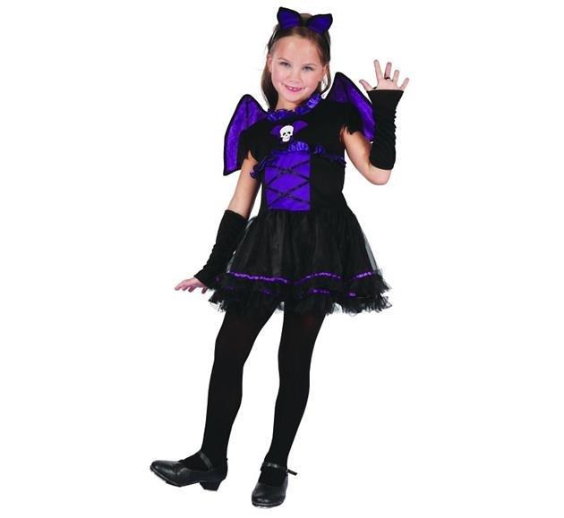 4588e6125c Strój dla dzieci Dziewczyna Nietoperz Batmanka
