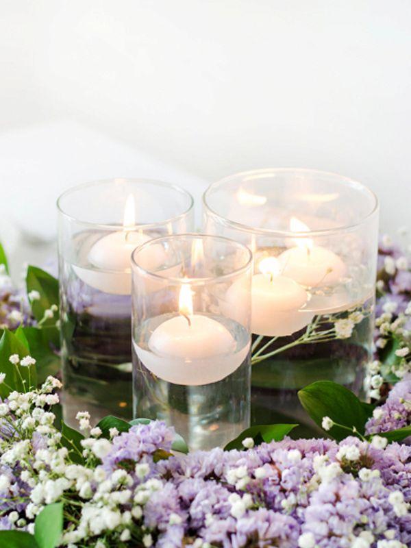 świeczka na stół komunijny kula