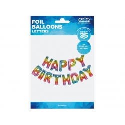 Balon napis HAPPY BIRTHDAY